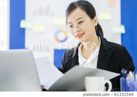 business woman, working, office 61131566
