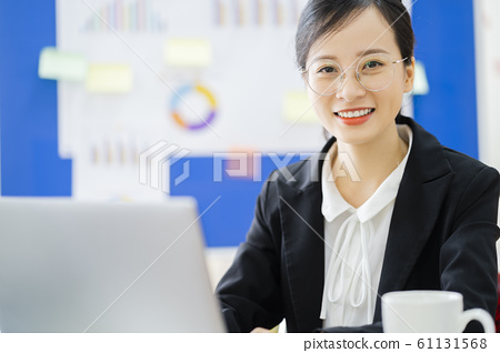 business woman, working, office 61131568
