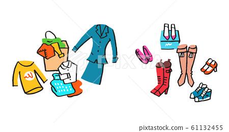 多件衣服和鞋子 61132455