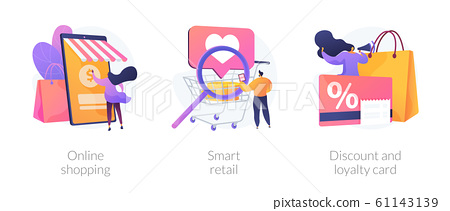 Innovative retail solutions vector concept metaphors 61143139