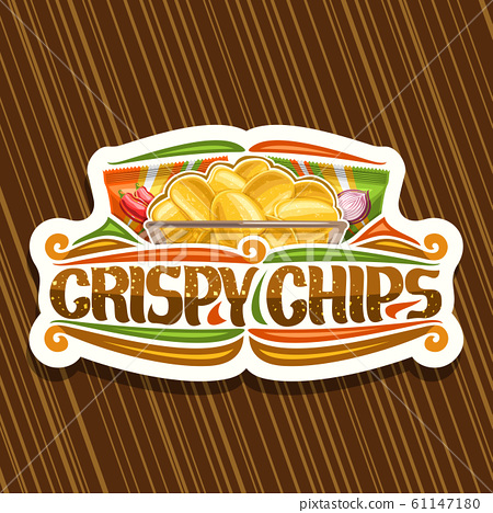 Vector logo for Potato Chips 61147180