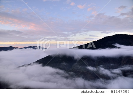 山上風景-觀霧雪霸國家公園,台灣    61147593