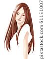 긴 머리의 여자 61151007