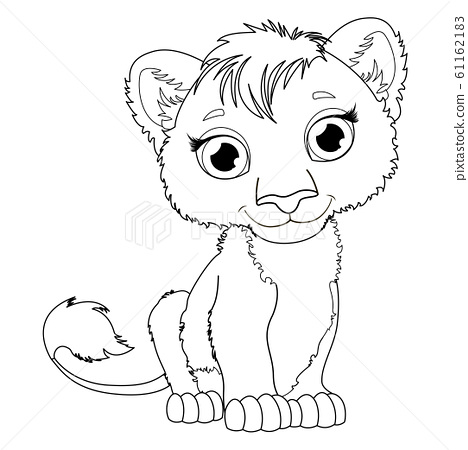 Coloring Page For Kids With Cute Cartoon Lion Stock Illustration 61162183 Pixta Our lion acrostic poem printable is simple and inspiring enough to make it a great introduction to acrostics for young children. https www pixtastock com illustration 61162183