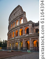The Colosseum or Flavian Amphitheatre in Rome, 61164394