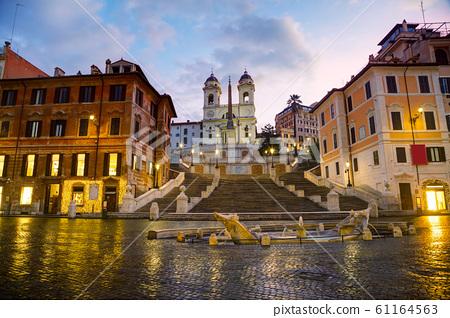 Spanish Steps at Spagna square 61164563