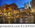 Spanish Steps at Spagna square 61164564