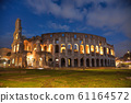 The Colosseum or Flavian Amphitheatre in Rome, 61164572