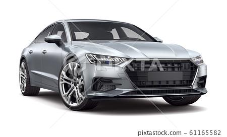 Executive  car isolated on white background 61165582