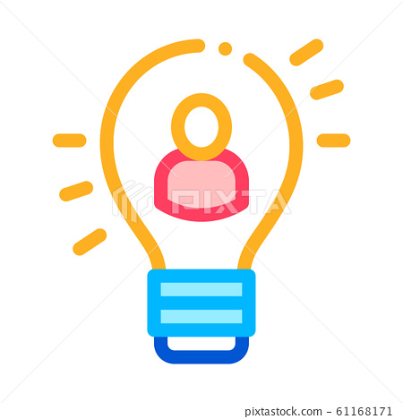 Quick Wits Human Talent Icon Vector Illustration 61168171