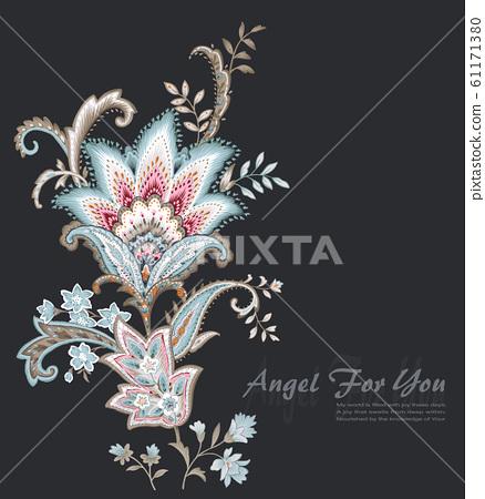 色彩豐富的佩茲利紋樣 61171380