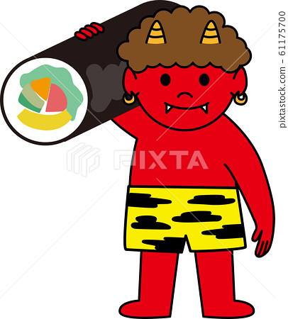 Demon carrying Ehomaki 61175700