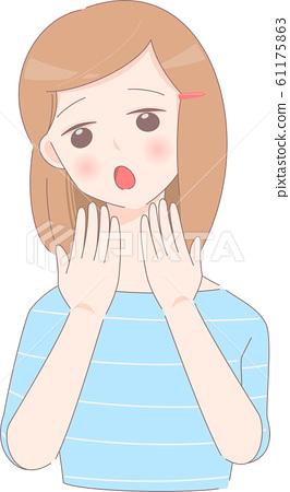 Female illustration 61175863