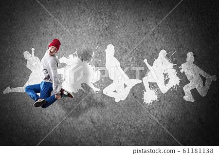 Hip hop dancer 61181138
