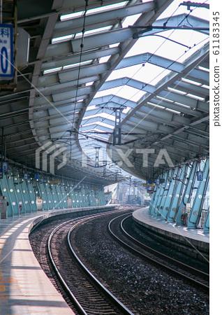 台灣新北市汐科火車站Asia Taiwan Taipei Railway Station 61183345