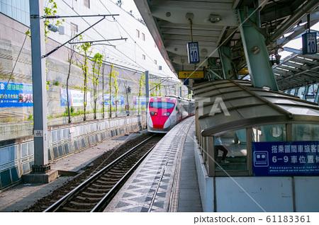 台灣新北市汐科火車站Asia Taiwan Taipei Railway Station 61183361