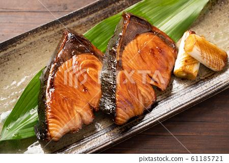 烤泡菜 61185721
