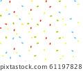 五彩紙屑背景圖 61197828