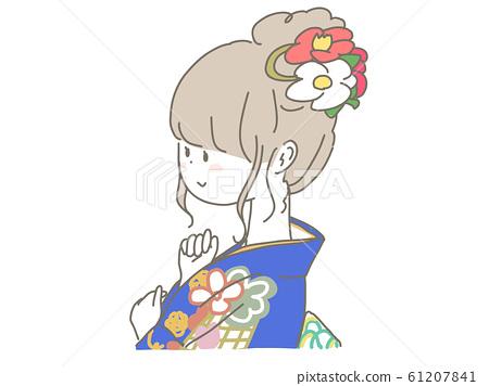 Kimono girl 61207841