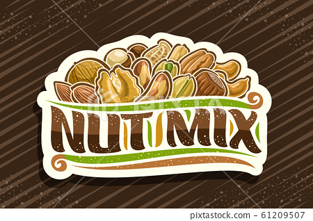 Vector logo for Nut Mix 61209507