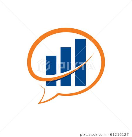 Financial Accounting Logo, Financial Advisors Logo Design Template Vector Icon, Modern Finance Business logo, Financial Stock Exchange Market 61216127