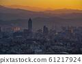 台北夕陽 61217924