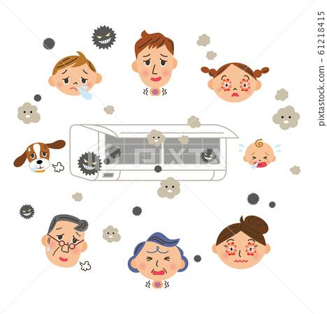 空調過敏3代家庭疾病 61218415