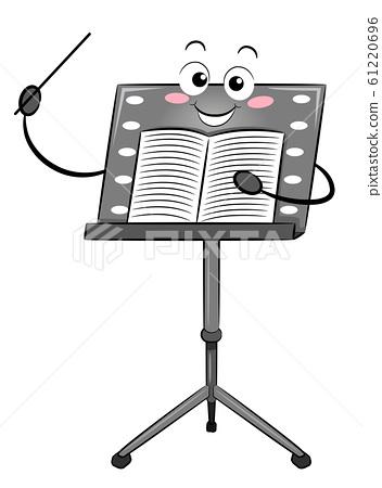 Music Stand Mascot Conductor Stick Sheet 61220696