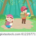 Kids Science Camp Documentation Illustration 61220771