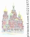 世界遺產城市景觀,俄羅斯,彼得斯堡,血腥教堂 61221977