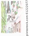 世界遺產城市景觀,在奧地利哈爾施塔特的小巷 61222077