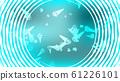 Texture of beautiful festive polygonal circular  61226101