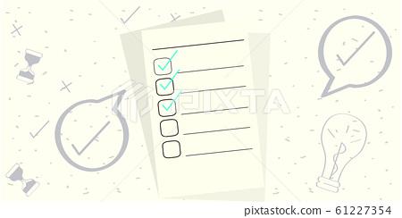 To do list illustration 61227354