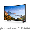 Tv Set with Curved Screen 61234646