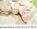 เท้าของทารก 61237872