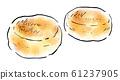 음식 일러스트 머핀 61237905