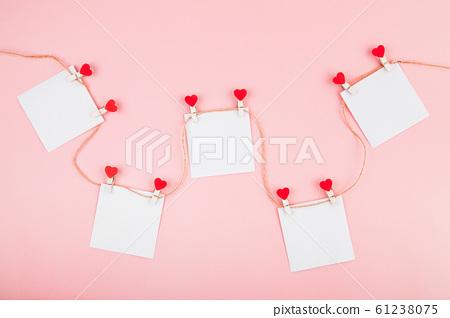 Valentines day card. 61238075
