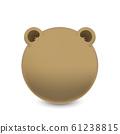 動物系列-可愛熊插圖 61238815