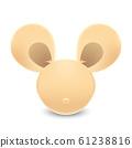 動物系列-可愛老鼠插圖 61238816