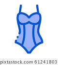 Sexy Lingerie Icon Vector Outline Illustration 61241803