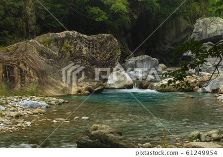 台灣,花蓮,溪流,花崗岩,台湾、花蓮、小川、花崗岩、 streams, granite, 61249954