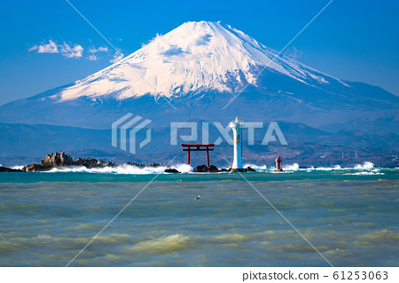 《神奈川縣》富士山和海洋/森東海岸 61253063