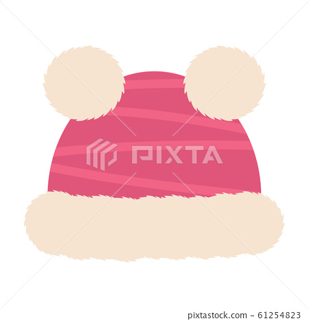 Isolated winter hat icon 61254823