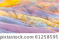 Seven Coloured Earths in Chamarel, Mauritius Island, Indian Ocean 61258595