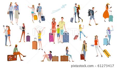 插圖素材:人,旅行,度假,生活方式 61273417