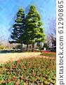 Marchen Hill in Funabashi Andersen Park. Ice Tulip (December) Funabashi City, Chiba Prefecture 61290865