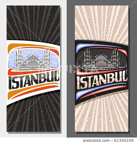 Vector vertical layouts for Istanbul 61300298