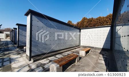 한국 전주시 효자공원묘지의 납골당 61300923