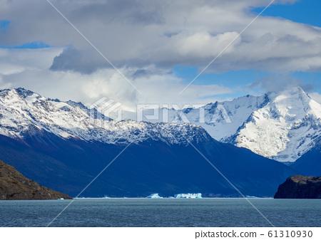 Icebergs on Lake Argentino in Los Glaciares 61310930