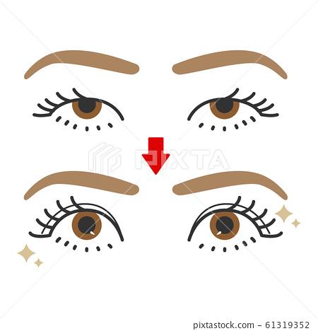 眼睛:單眼,雙眼,前後 61319352